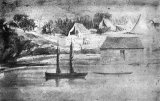 Commercial Bay, Auckland, Early 1841.