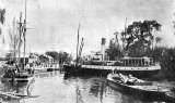 At Junction Wharf, Paeroa 1903