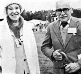 Our Patron, Mrs Nell Climie and Alec Brodie