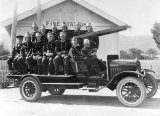 Historic Fire Brigade Photograph, 1926.