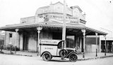 Wells Butchers Van - Corner of Belmont and Williams Street.