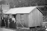 Albert Reed's Home - Battery Flat, Karangahake - 1898.