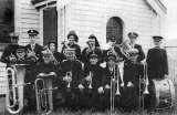 Paeroa Salvation Army Band (circ. 1938)