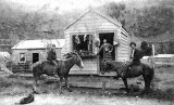 Butchers Shop - Main Street, Karangahake c 1890