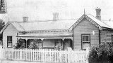 The White family home, in Albert Street, Mackaytown