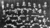 Paeroa High School's first rugby team