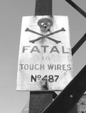 Fatal to touch wires