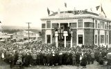 Paeroa Post Office opened on May 27, 1926