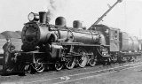 Ab steam locomotives were extensively used