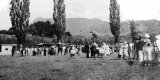 Sports day on the Mackaytown Domain. c 1930.