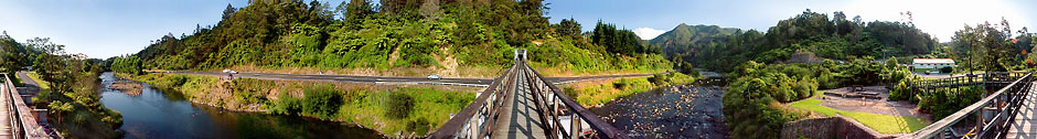 Karangahake Railway Bridge 360°